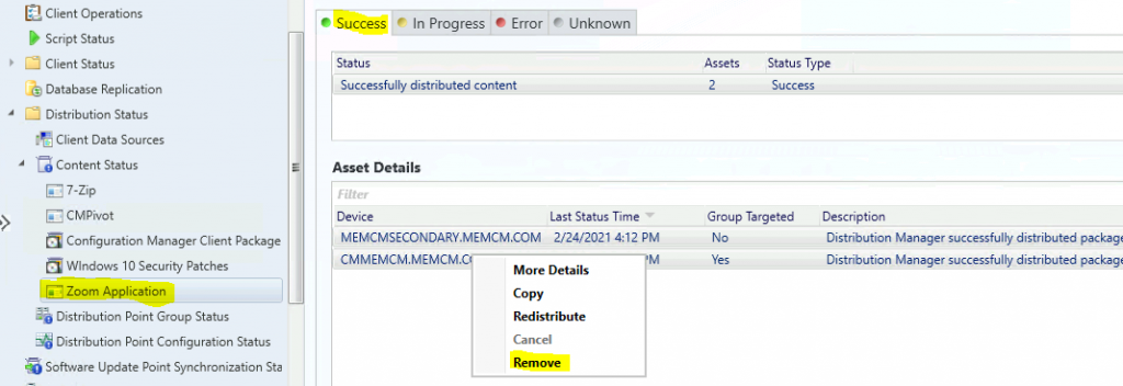 How to Remove ConfigMgr Package from Multiple DPs at the Same Time | SCCM