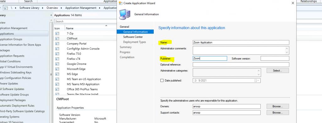 Deploy Zoom Application using SCCM | ConfigMgr