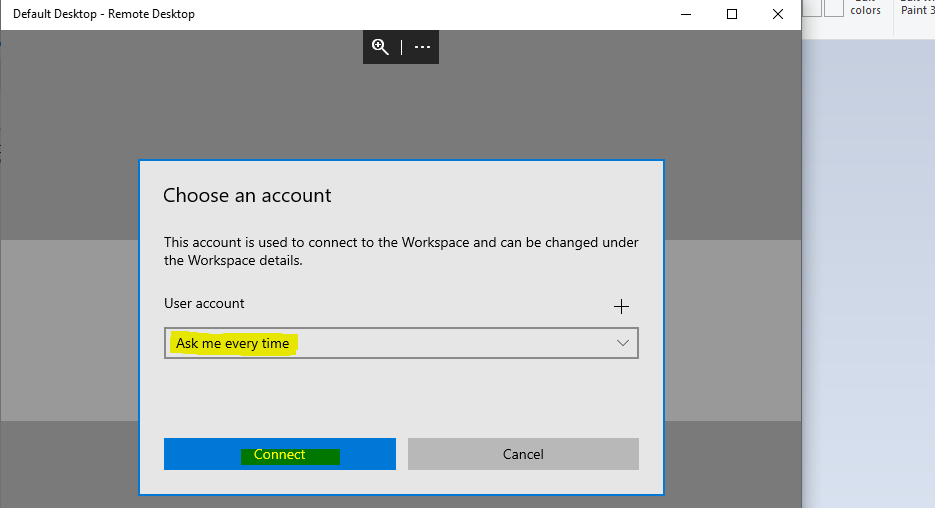 WVD Workspace URL | How to Use Microsoft Store Remote Desktop App 1