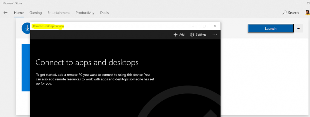 WVD Workspace URL | How to Use Microsoft Store Remote Desktop App 7