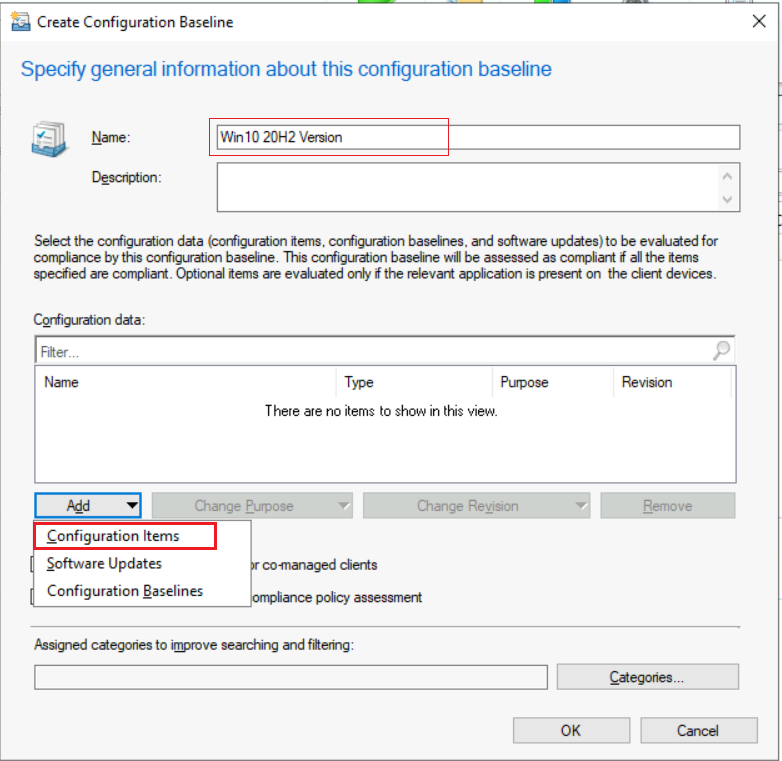 How to Create SCCM Configuration Items Configuration Baselines | ConfigMgr 2