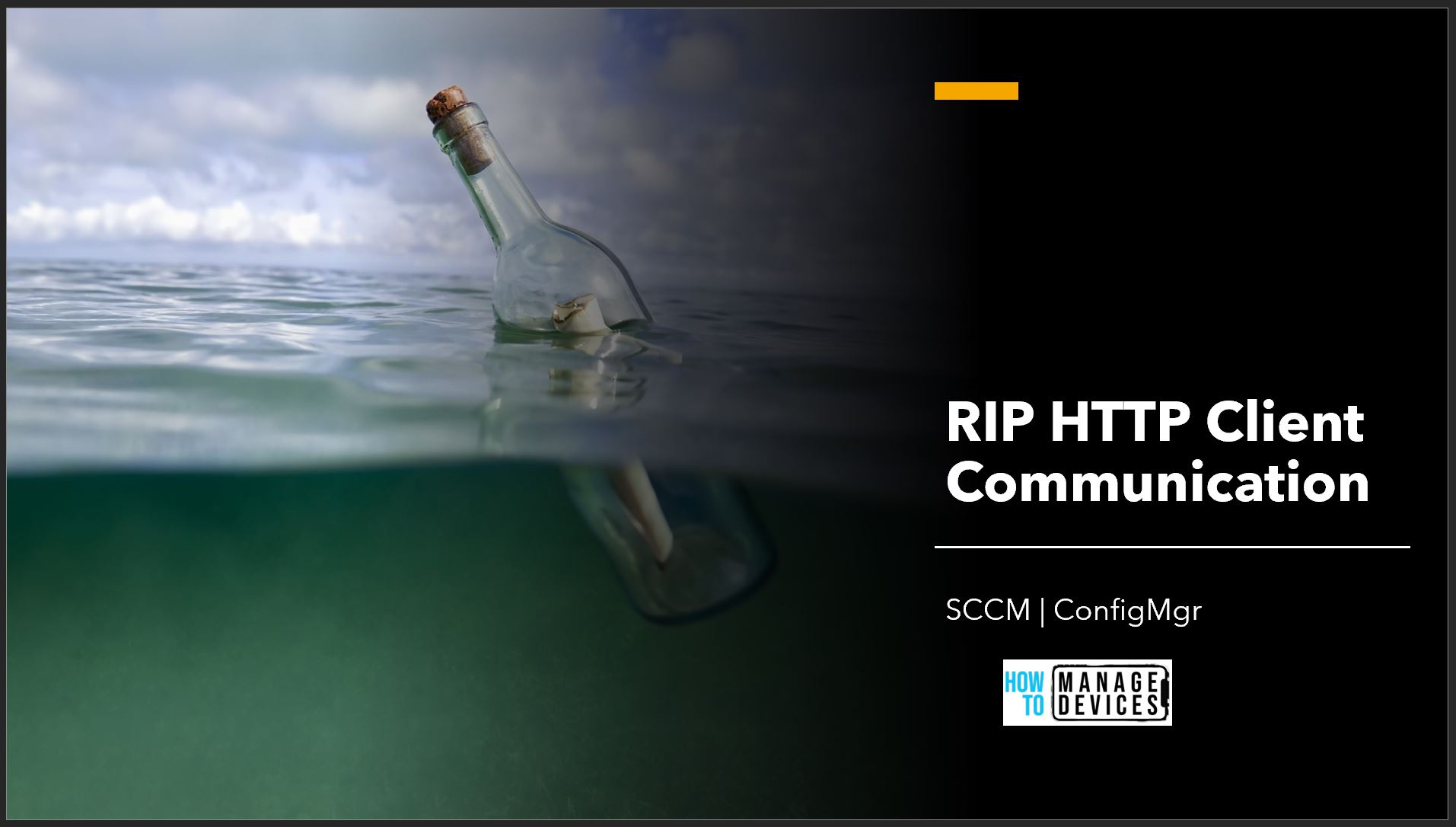 RIP HTTP Client Communication SCCM