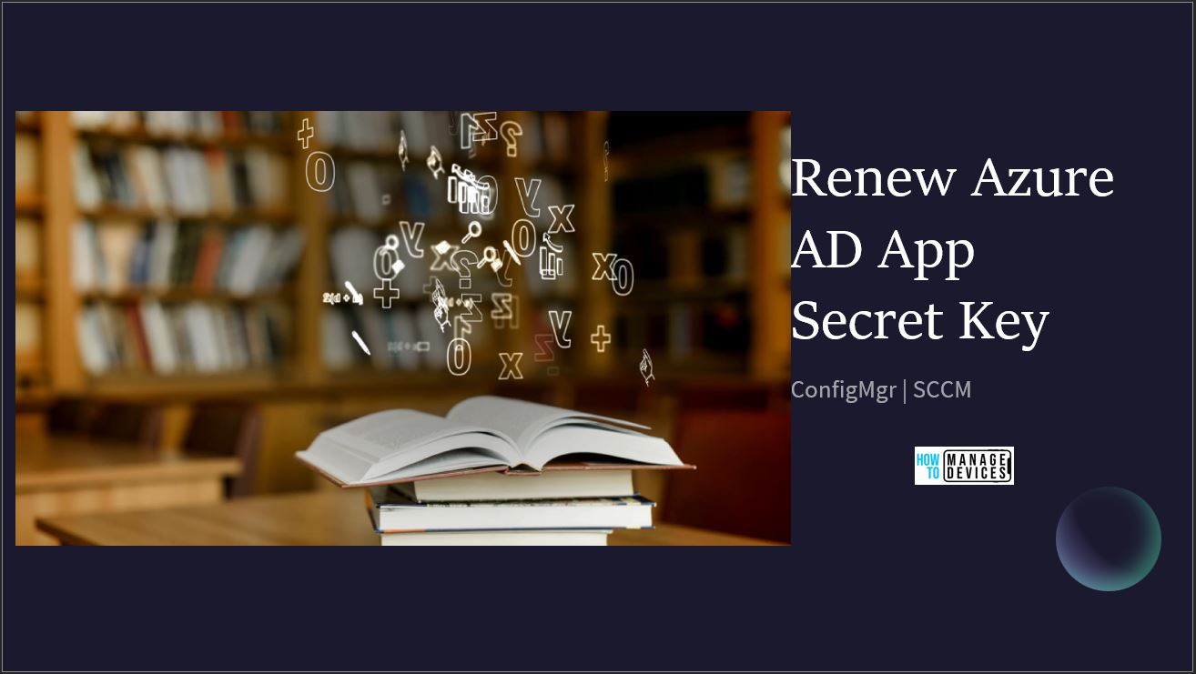 Renew Azure AD App Secret Key