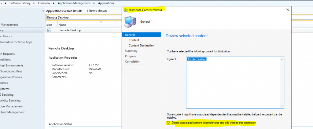 How to Deploy Remote Desktop Client using ConfigMgr | SCCM | WVD