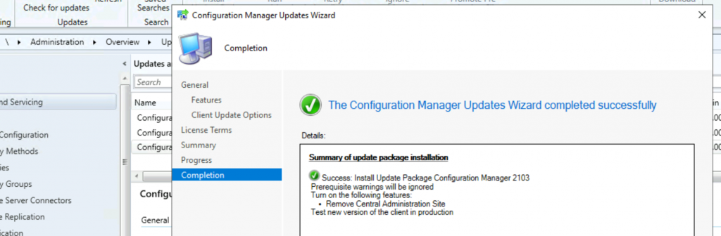 How to Upgrade SCCM Server to 2103 Version | ConfigMgr | Prerequisites