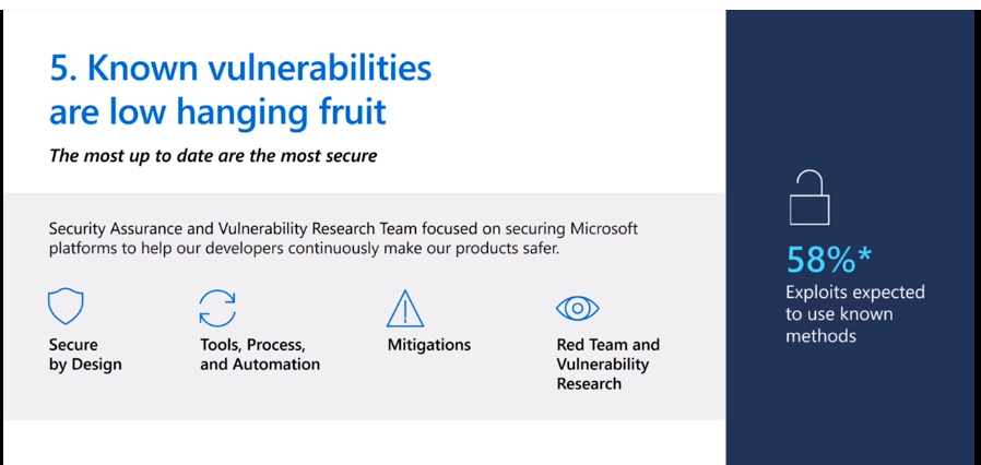 Top 5 Windows Security Challenges | Ignite 2021 | Windows 10 - Pic Credits to Microsoft