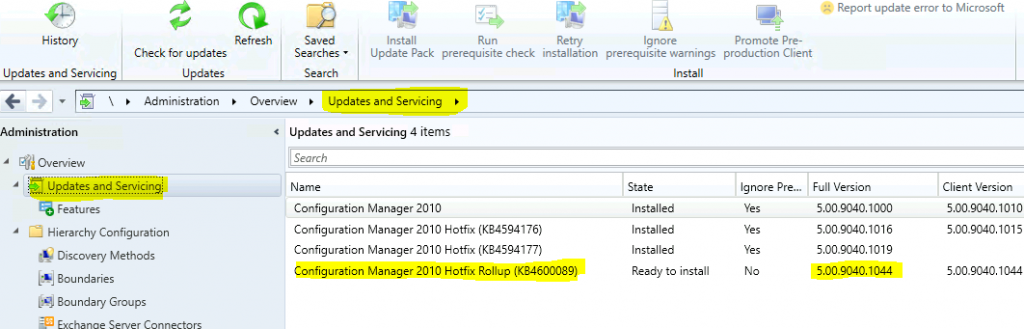 28 Issues Fixed with ConfigMgr 2010 Update Rollup Hotfix KB4600089 | SCCM 1