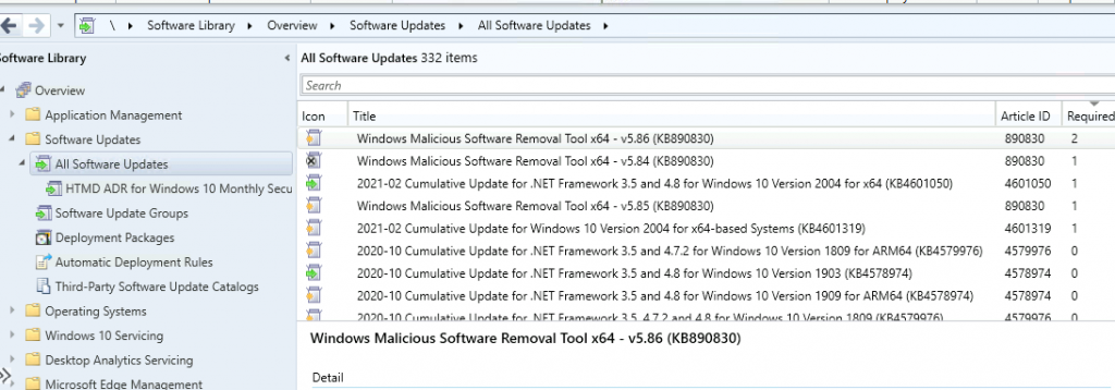Patch Software Update Deployment Process Guide | ConfigMgr 2