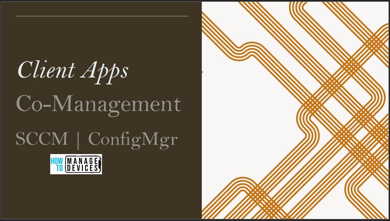 ConfigMgr Co-Management Workload