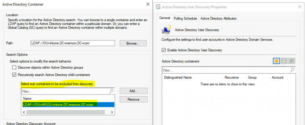 Enable SCCM Active Directory User Discovery | Exclude OU | ConfigMgr | Best Guide 1