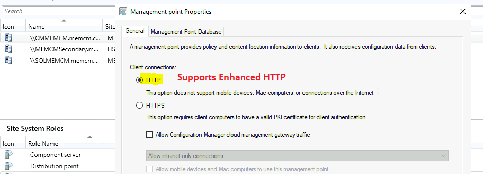 Best Guide to Enable ConfigMgr Enhanced HTTP Configuration | SCCM | eHttp