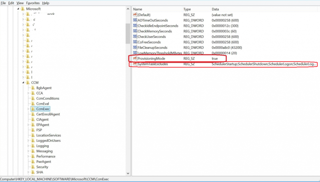 How to Remove SCCM Client from Provisioning Mode | ConfigMgr