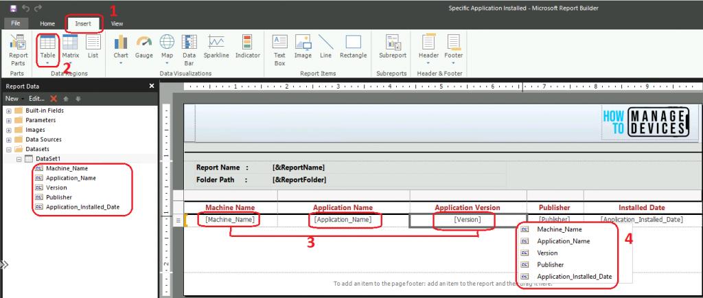 SCCM Dynamic Report Link to Get Specific Application Details | ConfigMgr