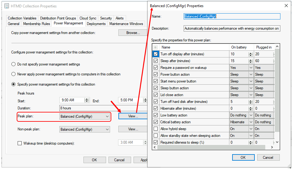 Configure Power Management in Configuration Manager | SCCM