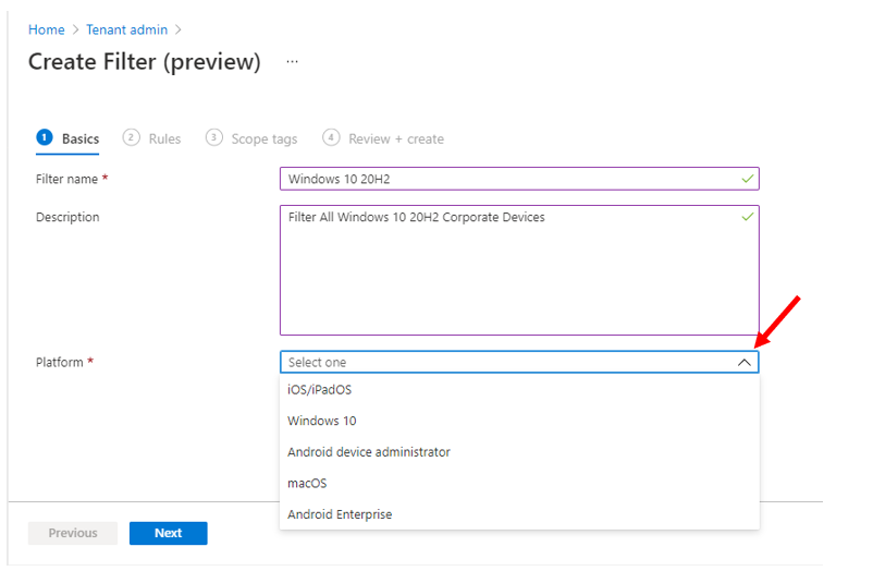 How to Use Filters for Assigning Apps Policies and Profiles In Intune Portal   Endpoint Manager