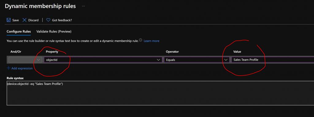 Windows AutoPilot Devices Azure AD Dynamic Groups Intune 2
