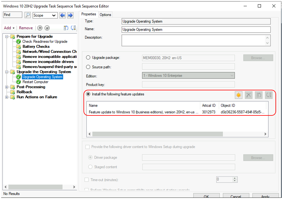 Deploy Windows 10 Feature Update Using SCCM Task Sequence | ConfigMgr
