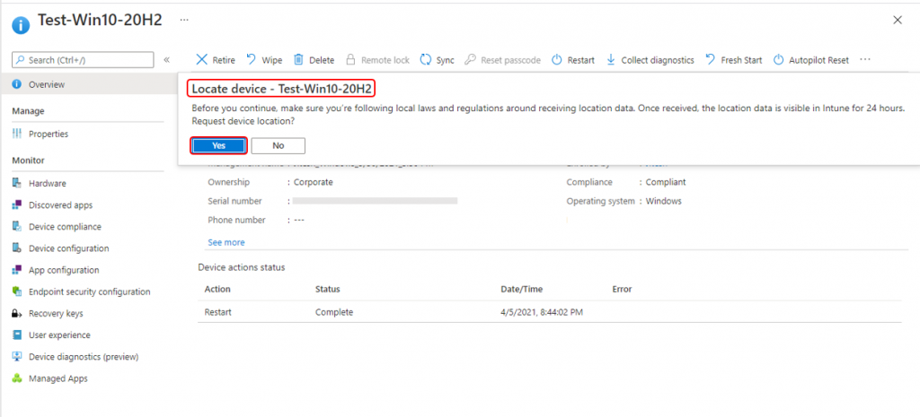 How to Locate Device with Intune | Endpoint Manager