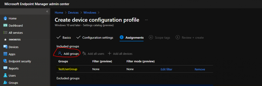 WVD Auto Feed Registration Intune Policy Setup | Default Connection URL Options | Auto Subscription Options