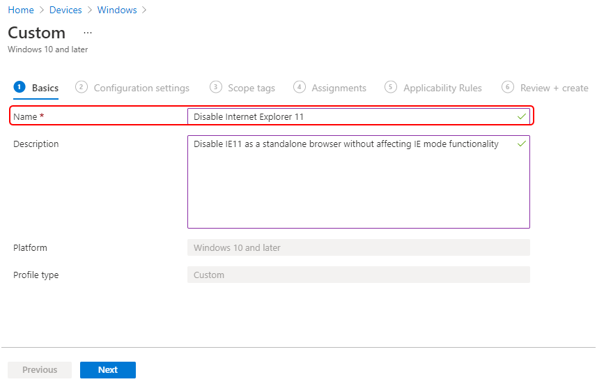 Disable Internet Explorer Using Intune | Endpoint Manager