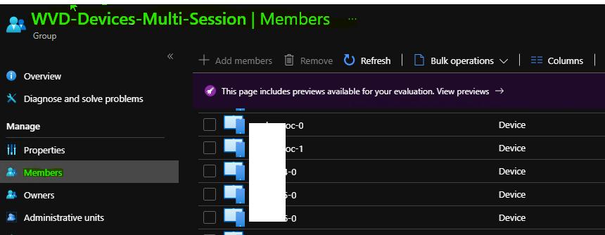 AVD Azure AD Dynamic Device Group for Windows 10 Multi-Session | Enterprise for Virtual Desktops