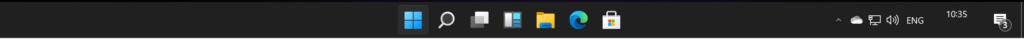 Windows 11 Taskbar removed features