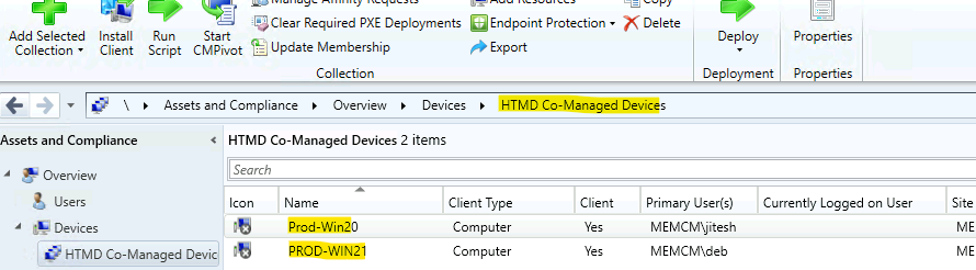 SCCM Collection for Co-Managed Devices How-to Guide Create ConfigMgr Dynamic Device Collection
