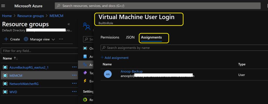 Add Azure Virtual Desktop Session Host to Azure AD