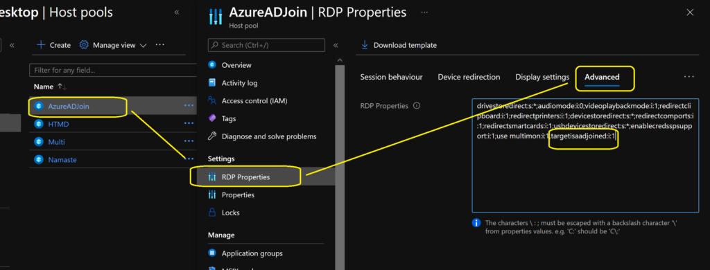 How to Add Azure Virtual Desktop Session Host to Azure AD Join Guide WVD AVD
