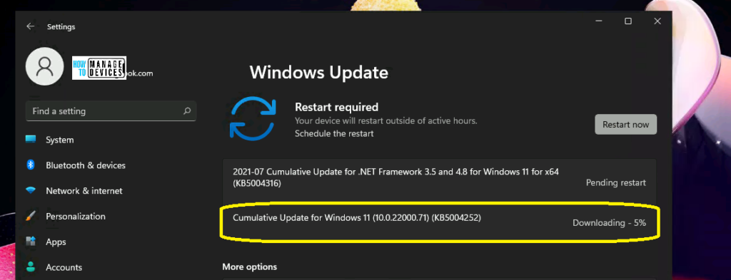 Windows Update Estimate Time in Windows 11 What is the downtime to complete updates is it Real?