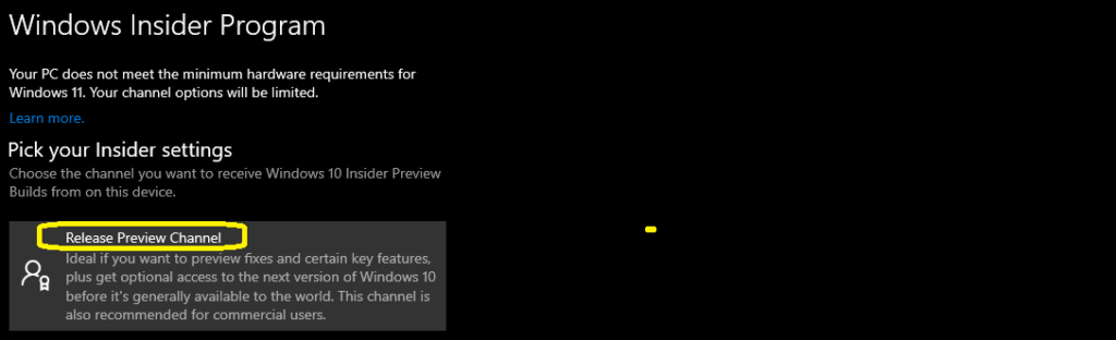 Windows 10 21H2 Build is Released to Insider Channel
