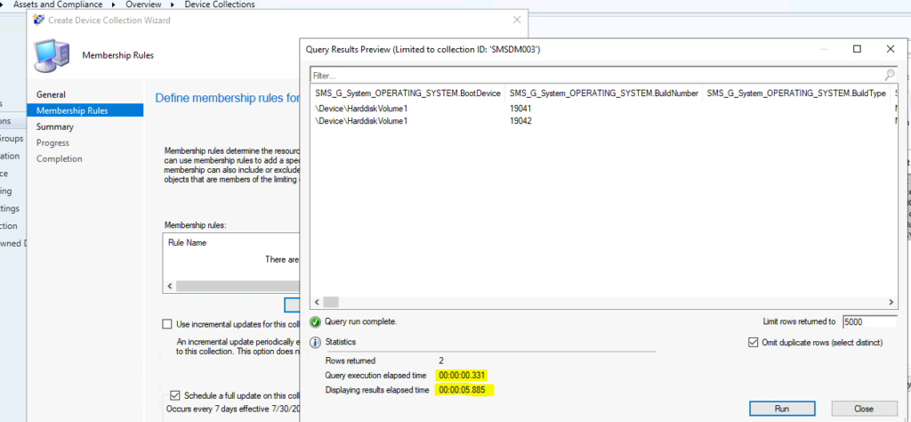SCCM Collection Best Practices to Create a Dynamic Collection