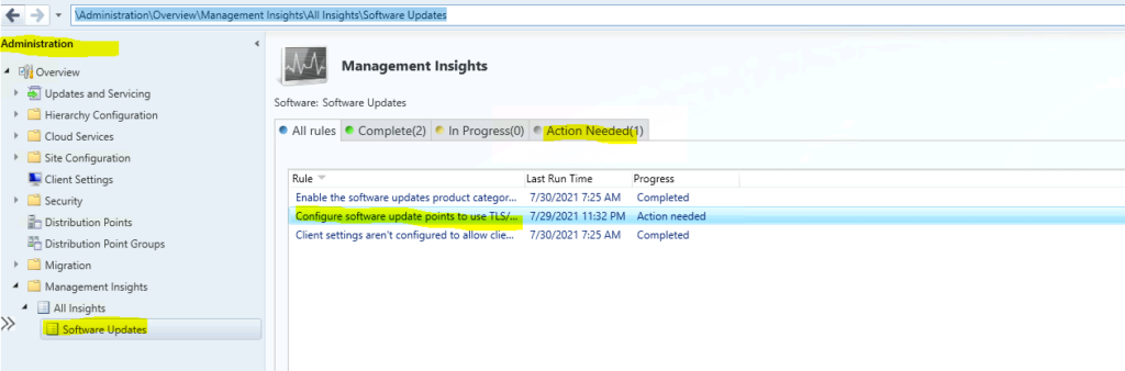 Top 5 Features of SCCM 2107 Configuration Manager