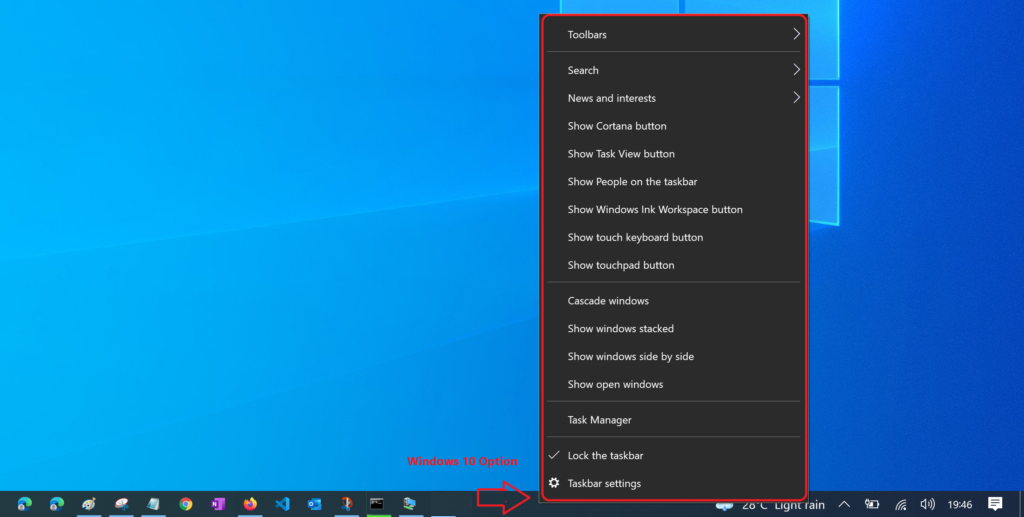 Windows 11 How to Hide Taskbar Options Unhide
