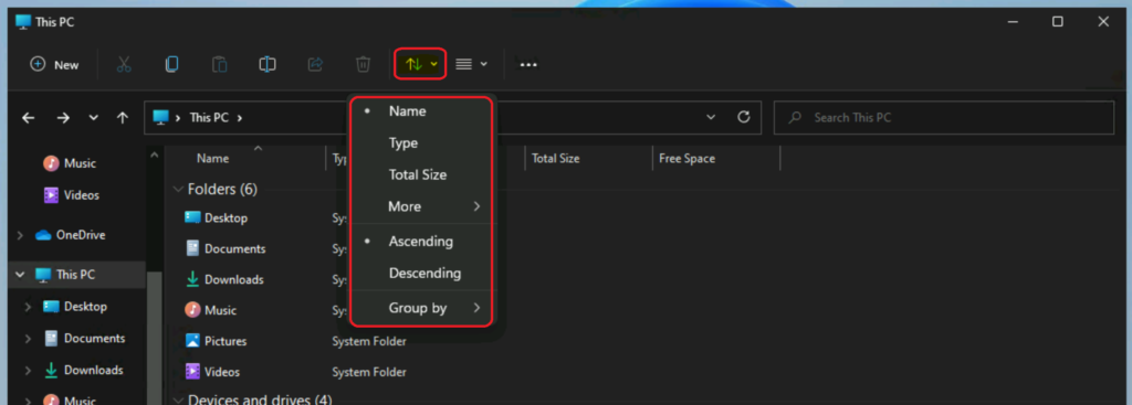 Windows 11 New File Explorer Experience New Features Design Details