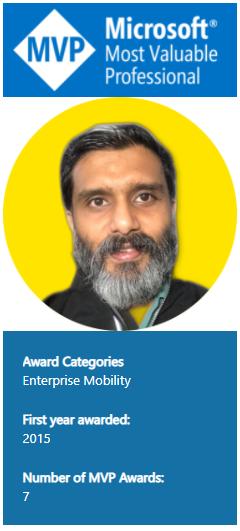 Microsoft MVP Award 2021-2022 Microsoft Most Valuable Professional