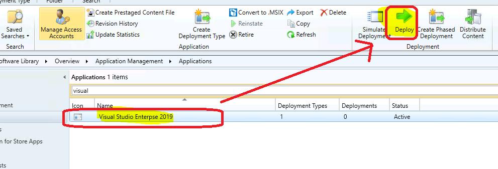 Easy Method to Deploy Visual Studio 2019 using SCCM 6