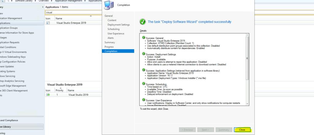 Easy Method to Deploy Visual Studio 2019 using SCCM 8