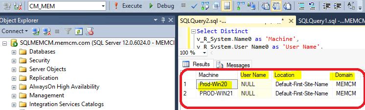 Create SCCM Report for Visual Studio