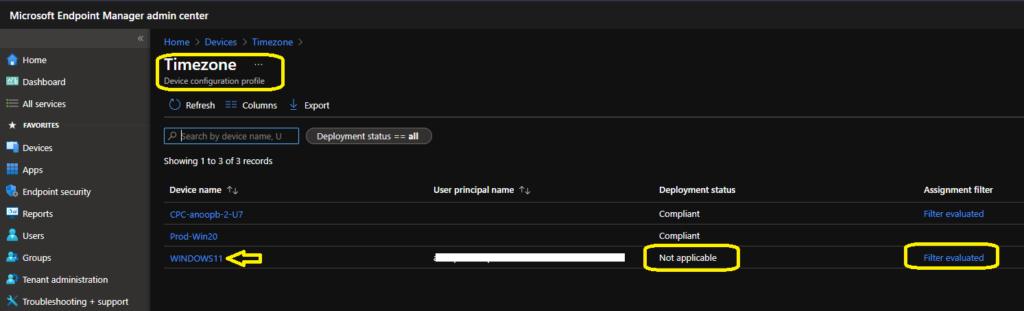 Create Windows 11 Filter Rule in Intune 2