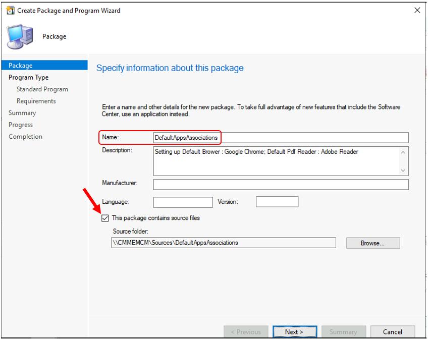 Configure File Associations using SCCM