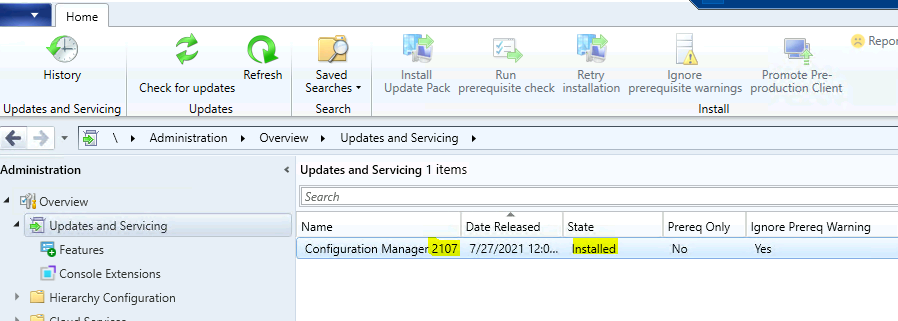 ConfigMgr 2107 is Generally Available Now End of Opt-in Phase