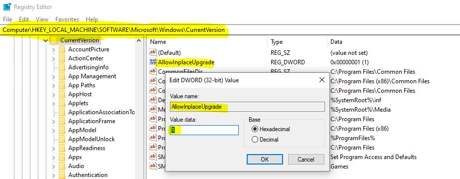 Fix PSFX_E_MATCHING_BINARY_MISSING Error for Windows 10 PCs cannot Install new updates 2