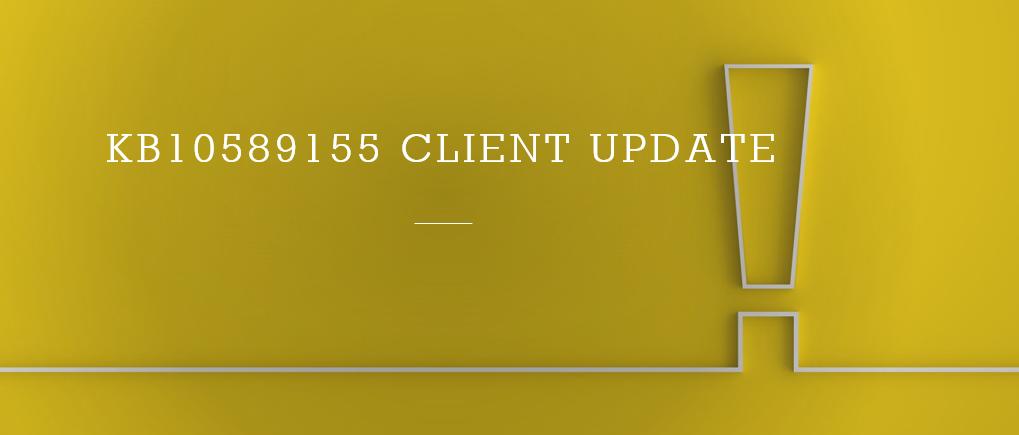 SCCM 2103 Additional Hotfixes Released KB10589155 KB10582136