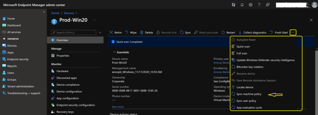 What is Microsoft Unified Endpoint Management UEM?