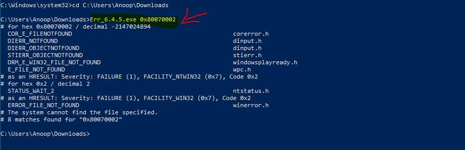 Translate SCCM Error Codes to Error Messages 1