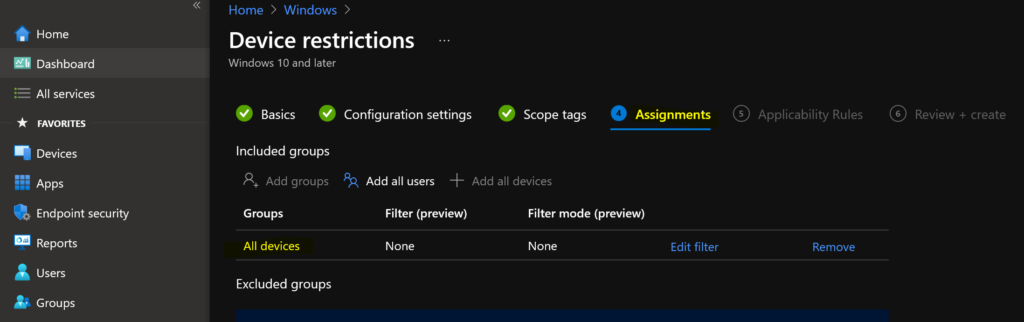 Deploy Start Menu Taskbar Custom Layout Settings using Intune 1