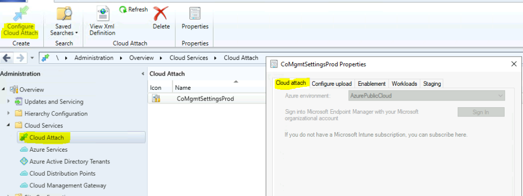 Co-Management Node is Missing from SCCM 2107 Console? What is changed