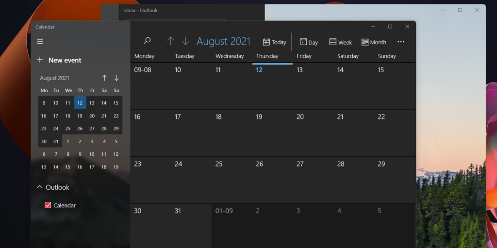 New Snipping Tool Calculator Mail and Calendar Apps with Windows 11 1