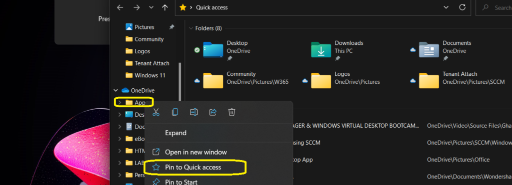 Windows 11 with Recycle Bin Modern Context Menu Adoption Preview Build 1